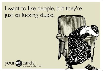 I Want to like people