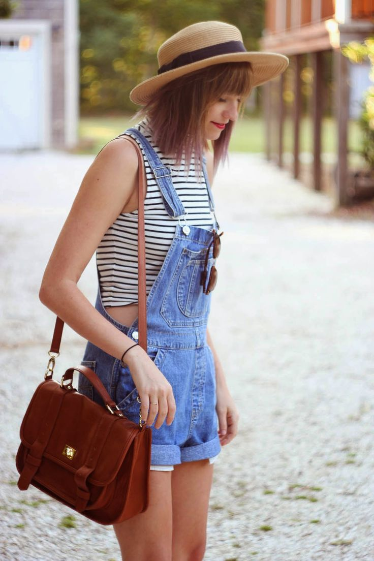 I love overalls but I don't think they would look this nice on me.... I would just look like a hobo in them I'm pretty sure:
