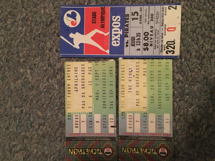 April Wine, The Kinks 1981, and Expos Montreal