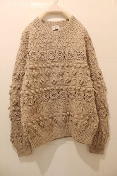 beautiful texture...love the mix of knit with crochet