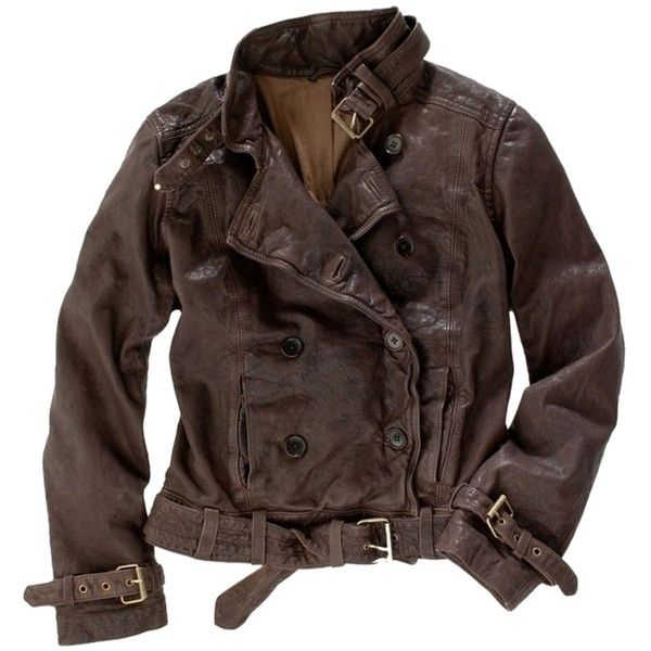 Pre-owned Madewell Brand New With Tags Leather Belted Bomber Jacket... ($499) ❤ liked on Polyvore featuring outerwear, jackets, leather jacket, coats, brown, blouson jacket, real leather jacket, brown bomber jacket, leather bomber jacket and leather flight jacket