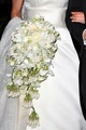about.com:  Royal Wedding Flowers-Wedding bouquet of Crown Princess Victoria of Sweden included orchids, peonies, roses, clematis, and gardenias.