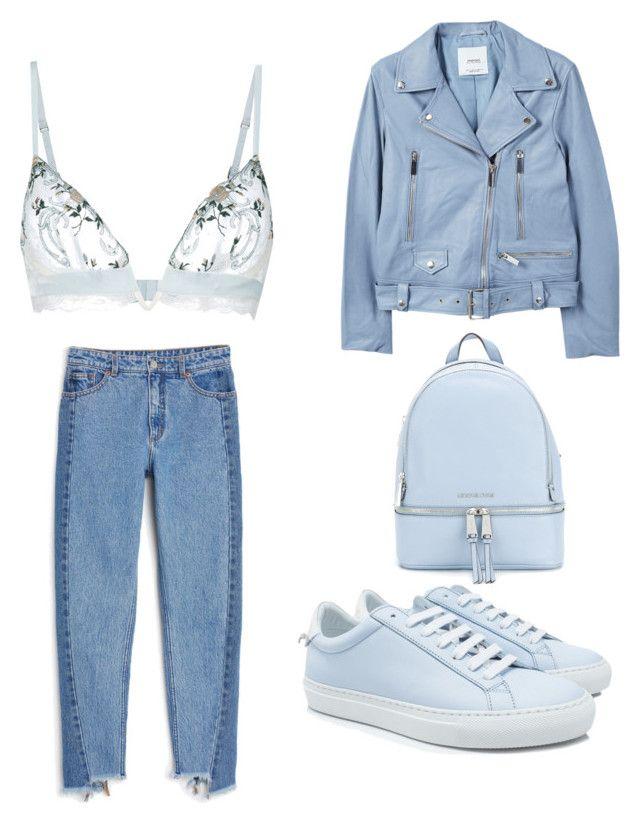 """""""Untitled #14"""" by westboorg-e on Polyvore featuring La Perla, MANGO, Monki, Givenchy and MICHAEL Michael Kors"""