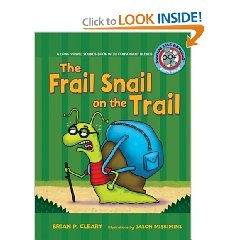 The Frail Snail on the Trail  This book looks at consonant blends.  It is specifically written for a focus on this part of phonics, and includes several words to illustrate this concept.