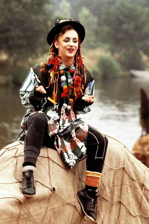 Boy George | singer | Symbol of Androgyny