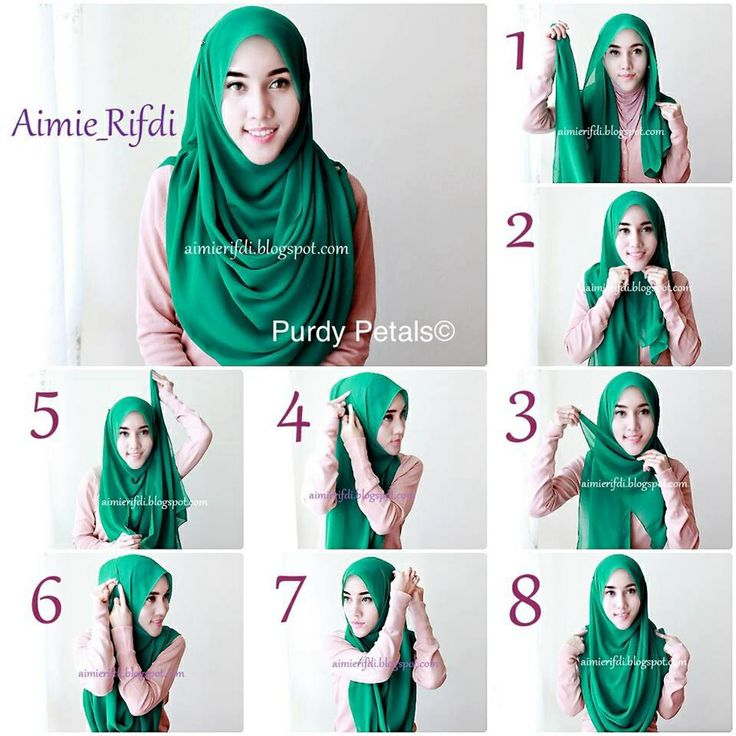 Modest and clean hijab tutorial.