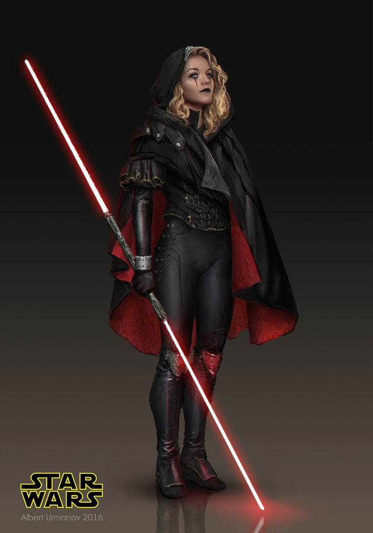 I wanted to illustrate Darth Zannah from the Star Wars novel trilogy of Darth…