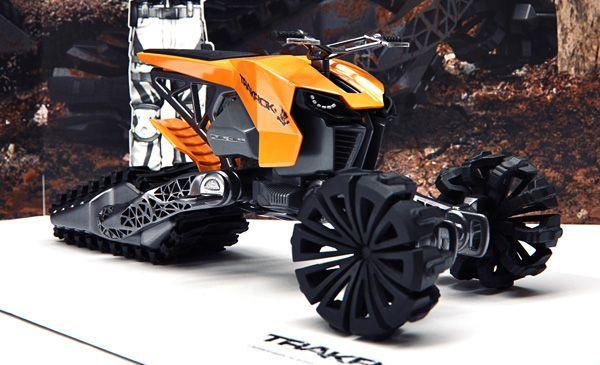 Trakrok - Concept ATV Trike by Alexei Mikhailov » Yanko Design