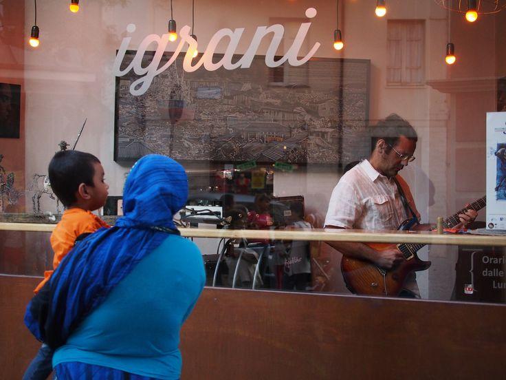 Enrico Merlin in solo a Nuoro Jazz 2015 - Nuoro Jazz anteprima Cafè I Grani 17 agosto 2015