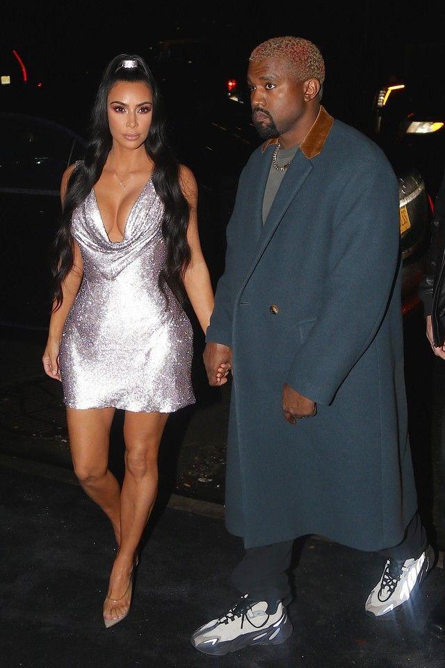 22246360 Kanye West wearing Adidas Christian Tresser Designed Yeezy 700s , Brain  Dead Sweats , Undercover Jun Takashi jacket
