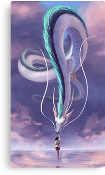 Spirit Away Fanart Leinwanddruck – #anime #Canvas #fanart #Print #Spirit