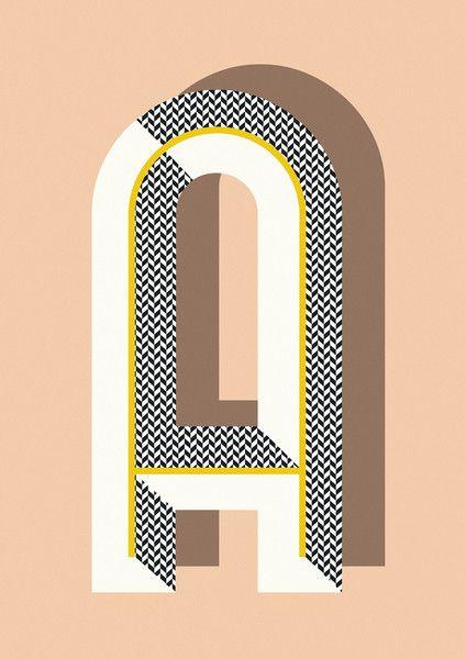 Ferm Living Shop — Bau Deco Letter Posters (A-Z)