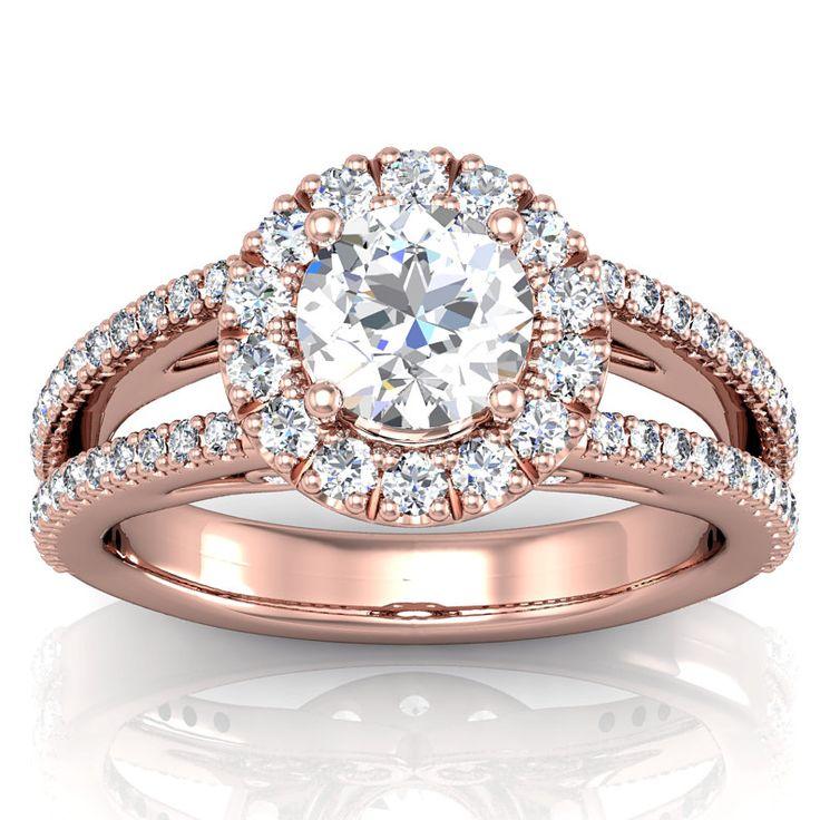 Rose Gold Ring Rose Gold Ring Setting ly