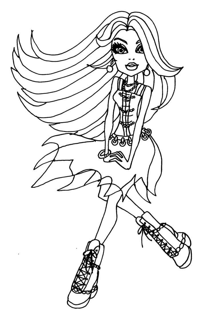 7 best monster high images on pinterest coloring pages