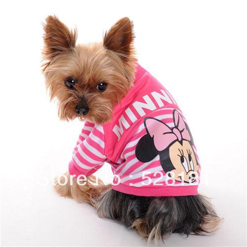 Домашнее животное одежда домашнее животное рубашка собака рубашка домашнее животное продукты собака одежда лето микки мышь полоска футболки t - рубашки домашнее животное футболки