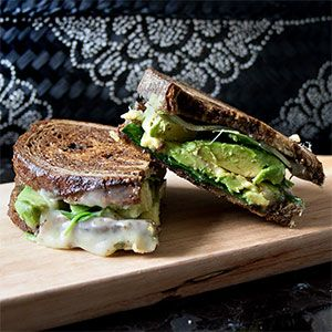 This has got to be one of the best grilled cheese sandwiches I've evermade. All I can say is WOW! I made this sandwich in my cast iron skillet,which is my absolute favorite …