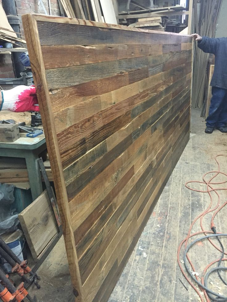 Bed backboard works in progress pinterest bed for Backboard ideas for beds
