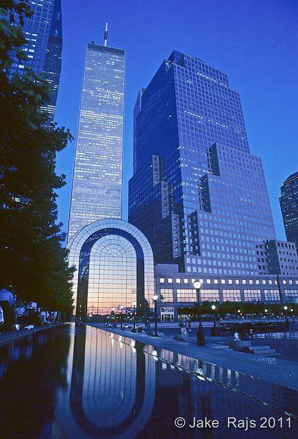 Twin Towers, Winter Garden, World FInancial Center Plaza, Manhattan, New York City, New York, USA | Flickr - Photo Sharing!