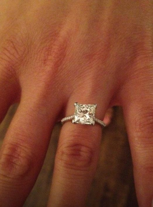 1000 Ideas About 2 Carat Engagement Ring On Pinterest