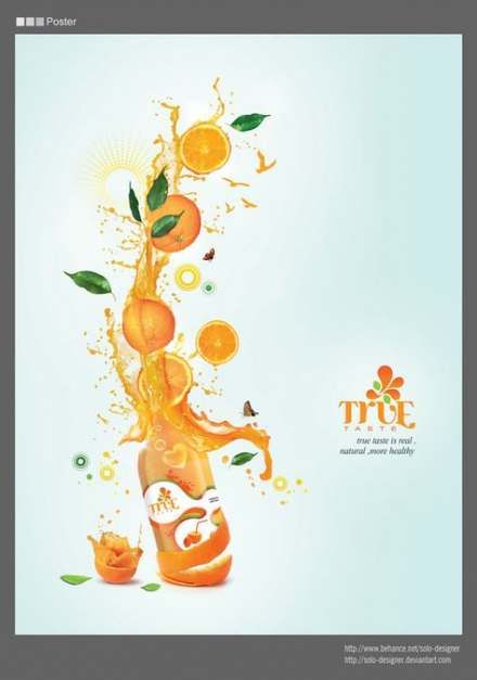 Fruit juice advertising drinks 56 Best Ideas | Fruit logo ...