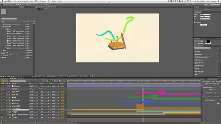 Nice tutorial about cel animation.  Cel Animation Tutorial // Mr Cube Breakdown, by Casey Latiolais.