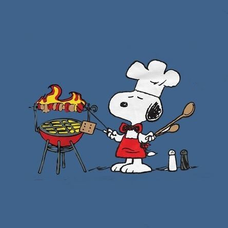 snoopy cook-out