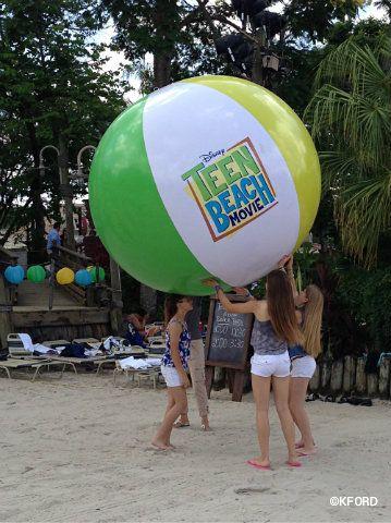 Teen beach movie stuff at Typhoon Lagoon