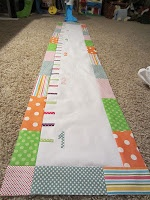 Fabric Growth Chart Tutorial so. Sooooo cute! Can not wait to get started on this... This weekends project for sure!!