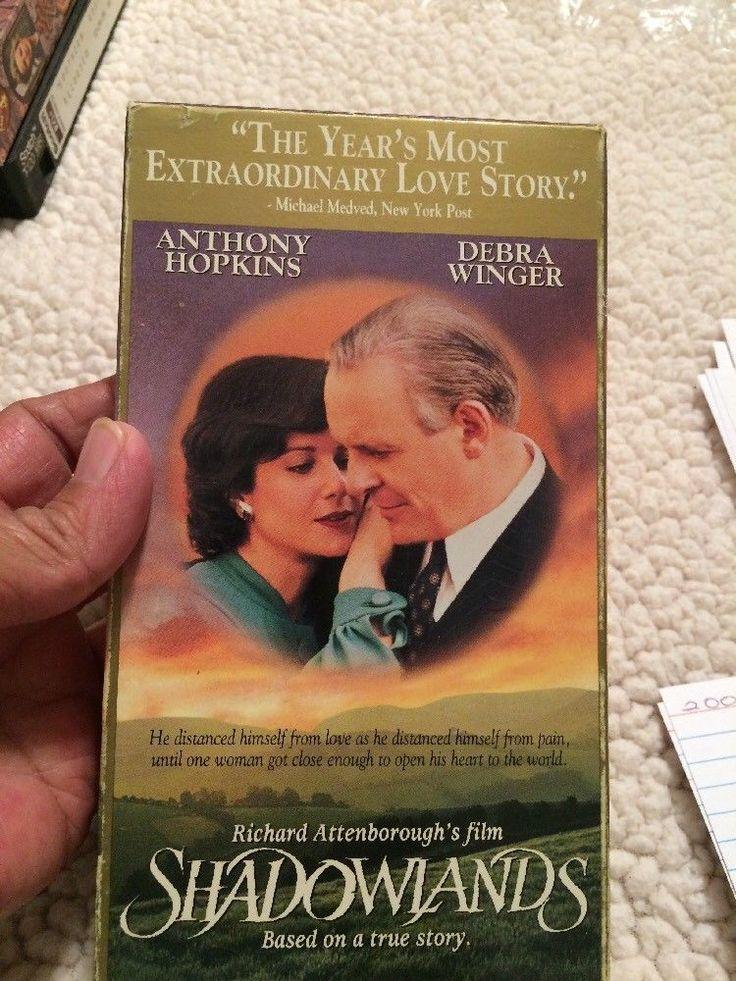 Shadowlands (VHS, 1994) Anthony Hopkins Debra Winger  | eBay