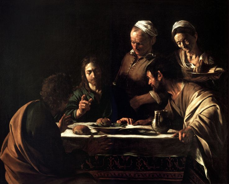 CaravaggioEmmaus - Road to Emmaus appearance - Wikipedia, the free encyclopedia                                                                                                                                                      More