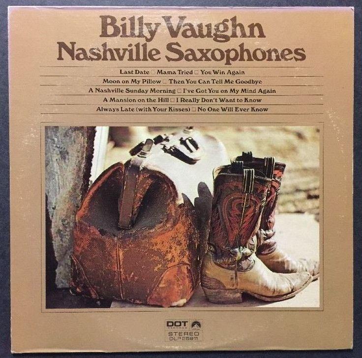 Billy Vaughn - Nashville Saxophones VINYL LP