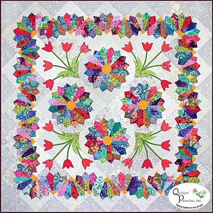 Dresden Flower Patch pattern by Colette Belt for Quilters' Paradise
