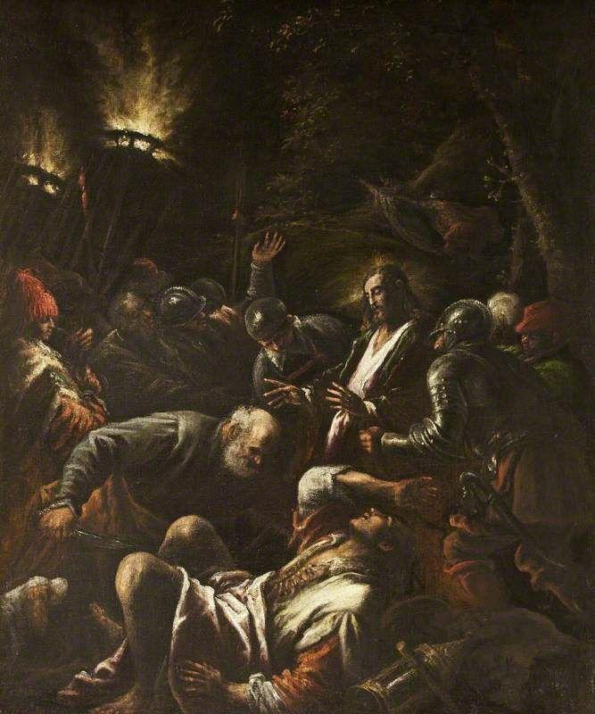 Η σύλληψη του Χριστού (1583-92)