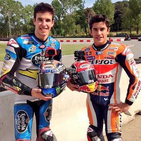 Alex and Marc Marquez