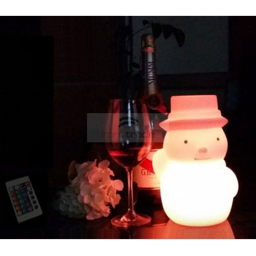 14 best led table mood lightslamps images on pinterest buffet led mood light table lamp snowman shape usb cable rechargeable rgb color change greentooth Gallery