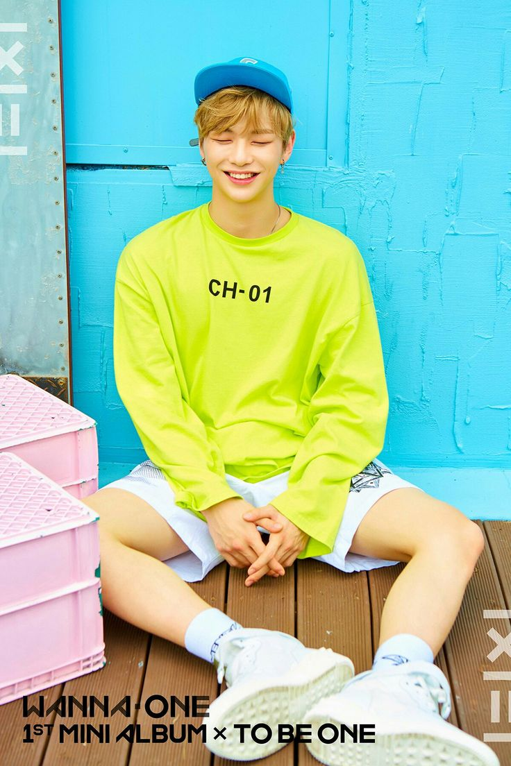 Wanna One 1×1=1 1st Mini Album × To Be One  Kang Daniel  Pink ver.