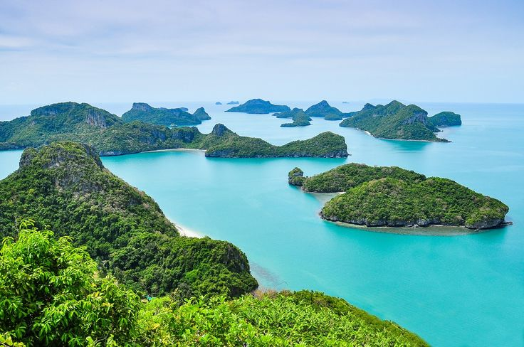 On the top of view point on Vua Ta Lub Island (Moo Koh Ang Tong National Park)