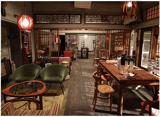 最後から二番目の恋(2012) ながくらカフェ セット