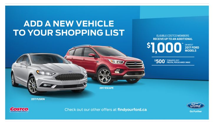 March special #Costco and #Ford