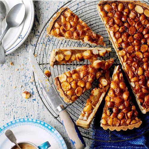 Macedamia-honingtaart recept - Jamie magazine