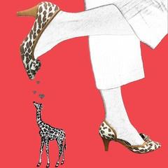 Stasia Hiari Court Shoes- Artwork