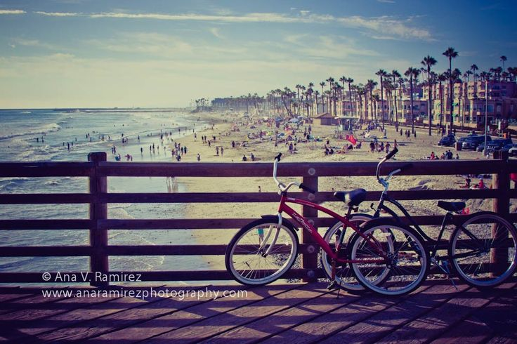 Lazy Summer Days, Oceanside Pier California, beach and summer photography, 5 x 7 photographic print. $15.00, via Etsy.