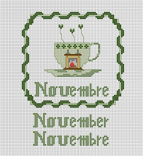 A-CUP-OF-NOVEMBER-copy-1.jpg...one more month to go, then I will move all 12 to the  Cross stitch months board.