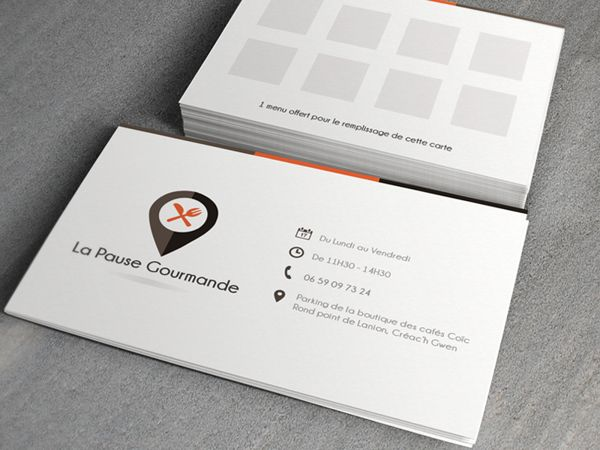 16 best graphic design images on pinterest loyalty cards loyalty logo and loyalty card la pause gourmande by kevin cdnc via behance colourmoves