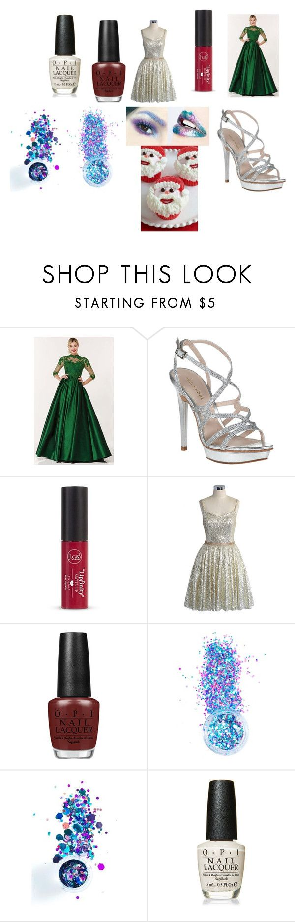 """Lakes"" by efrat-kazoum on Polyvore featuring Alyce Paris, Pelle Moda, Forever 21, Chicwish, OPI and In Your Dreams"