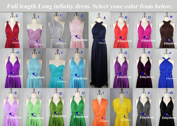 Maxi Full Length Bridesmaid dress infinity by Dresslongbridal, $44.10