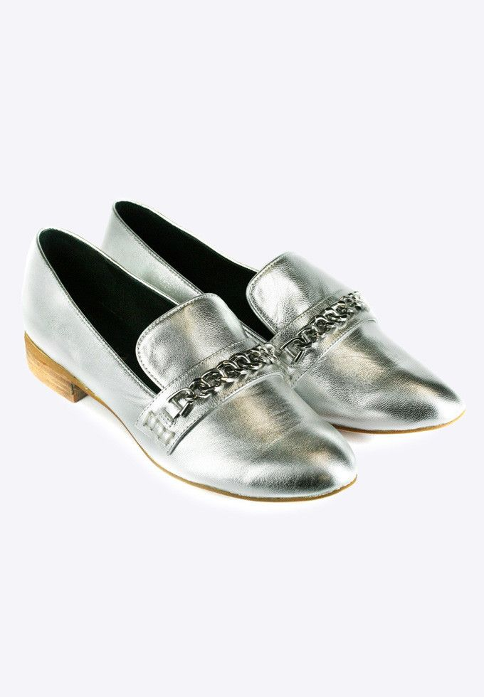 The Finery - Dept. Of Finery - Celeste Loafer Silver