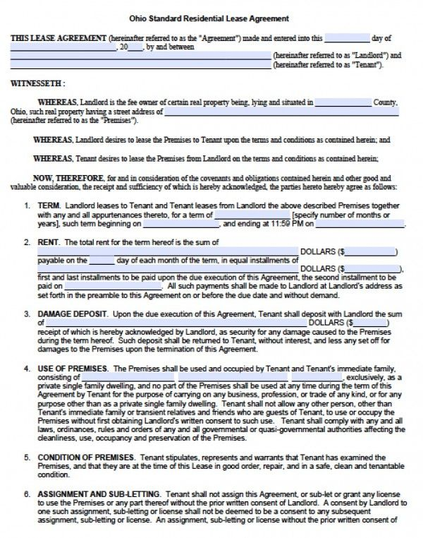Residential Lease Agreement Pdf Check More At Https Nationalgriefawarenessday Com 9892 Residential Lease Agreement Pdf