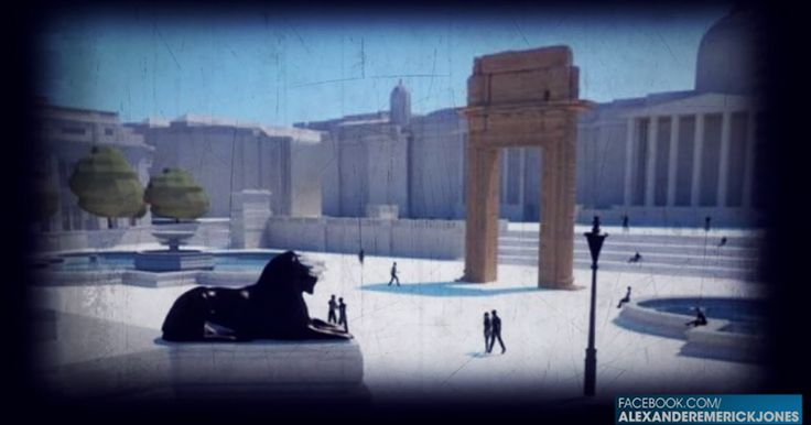 NWO OPENING THOUSANDS OF PORTALS TO ANCIENT DEMONS Temple of Baal arches will be put in multiple large cities around the world