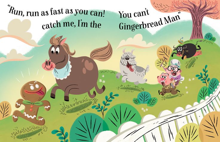 So much fun in the Gingerbread Fairy Tale, illustrations by Aurore Damant
